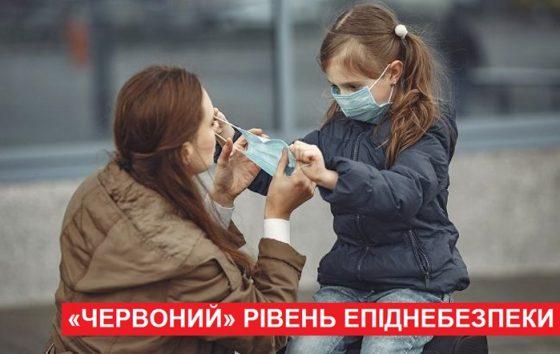 З 30 жовтня на Івано-Франківщині встановлено «червоний» рівень епіднебезпеки